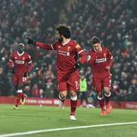Salah scores again to send Reds into second as Rafa returns to Anfield