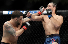Ortega becomes the first fighter to stop former UFC champion Edgar
