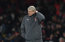 Wenger: Arsenal worse than last season but I can live with it