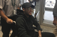 Neymar leaves hospital by helicopter to begin rehab at luxury villa near Rio de Janeiro