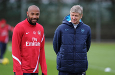 Henry ready to step in at Arsenal but wants former boss Wenger to have 'last word'