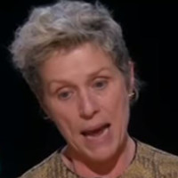 Frances McDormand asks all female nominees to stand in rousing Oscars speech
