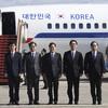 North Korea's Kim Jong-un plays host to South Korean envoys for historic talks