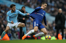 Hazard: I wouldn't have got a touch against Man City if we played for three hours