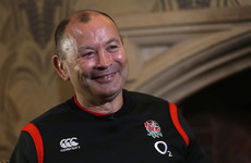 'It's part of the job': Eddie Jones keen to put abuse behind him