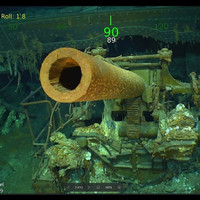 World War II aircraft carrier found after 76 years