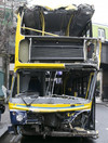 No one seriously injured after bus crash in Dublin city centre