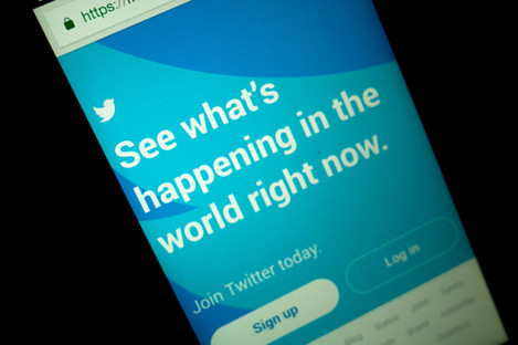 The Twitter app