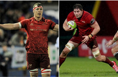 Copeland to leave Munster at end of the season while forward trio sign new contracts