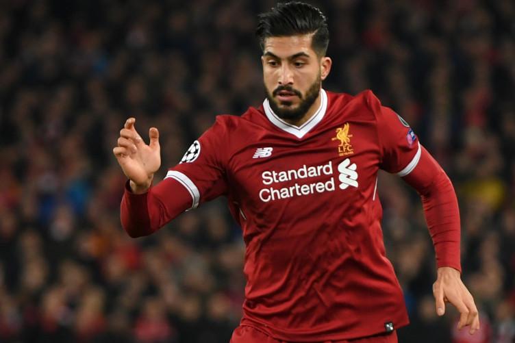 Liverpool midfielder Emre Can.