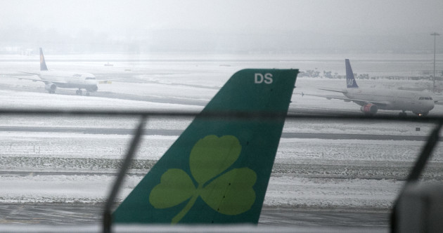 'It was pretty appalling' - Aer Lingus communication slammed by Irish stranded across Europe during Storm Emma