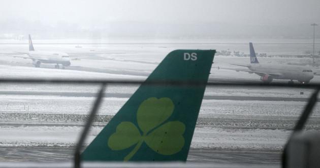 'It was pretty appalling' - Aer Lingus communication slammed by Irish stranded across Europe during Storm Emma