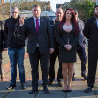 Britain First leader and deputy leader jailed for religiously aggravated harassment