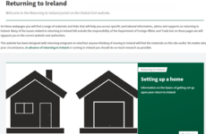 Government offers advice to returning emigrants on how to get a home and access work