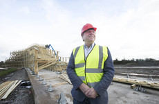 Ray Coyle's plans for a solar farm at Tayto Park have been stalled