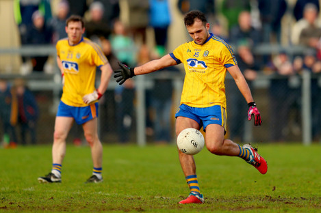 Donie Smith is brought into the Roscommon starting side.