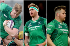 Three promising homegrown players sign pro contracts with Connacht
