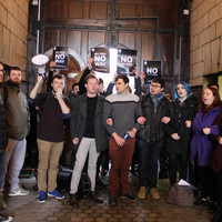 Students' exam fee protest shuts down access to Book of Kells