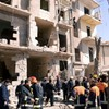 Syrian troops and gunmen clash in Damascus