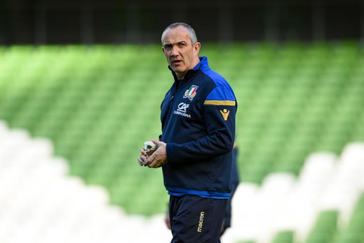 Italy head coach Conor O'Shea.