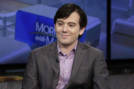 File photo of Martin Shkreli being interviewed on the Fox Business Network.