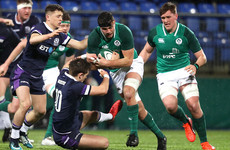 Jack O'Sullivan powers Ireland U20s to bonus point win over Scotland