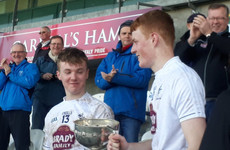 More heartbreak for Marist College as Naas CBS crowned Leinster A champions for the first time