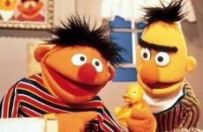 Did a throwaway Tweet reveal Sesame Street's Bert as gay?