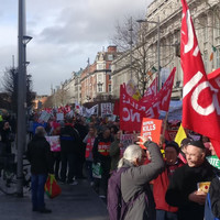 Thousands march in Dublin calling for Eighth Amendment to be retained