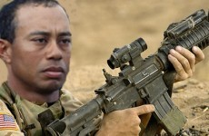 Did Tiger Woods suffer his career-shattering injury while training to become a Navy SEAL?
