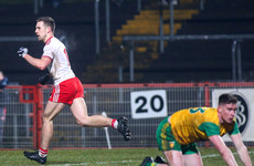 Two-goal Tyrone move closer to safety with big win over Donegal in Omagh