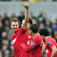 Jonny Evans relieved to at last grab first United goal