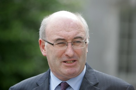 Fine Gael Minister for the Environnment, Community and Local Government Phil Hogan