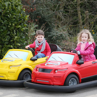 Tayto Park has launched a 'driving school for kids' with Nissan cars