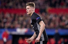 Man United youngster McTominay declares for Scotland