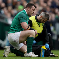 Ireland say Cian Healy suffered 'a stinger-like injury' but will train fully this week