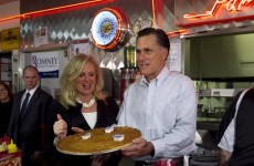 Romney focuses on Obama while Santorum questions rival