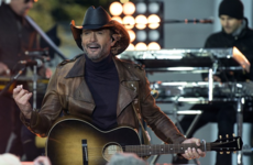 Tim McGraw collapsed on stage during a gig at the 3Arena last night