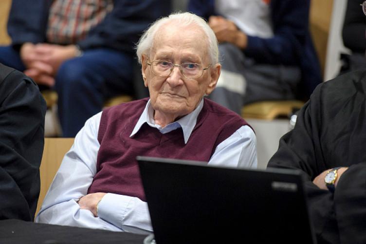 Oskar Groening, 96, a former member of the Waffen-SS.