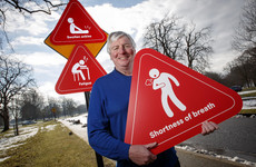 'I was waking up in the middle of the night panting for breath': Michael Lyster on his heart failure