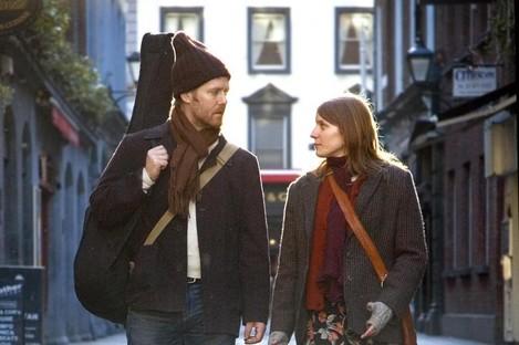 Glen Hansard and Marketa Irglova who starred in the movie Once