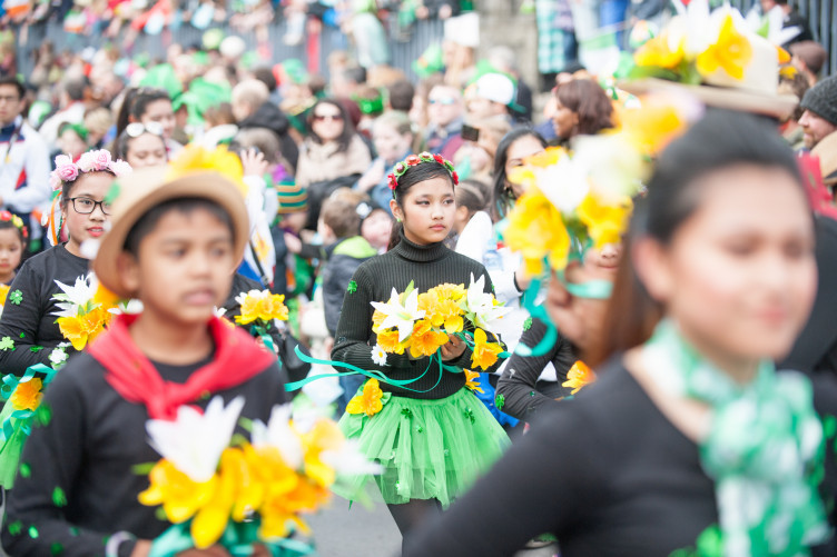 Last year's St Patrick's Day Parade in Galway.