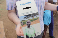 Daniel was on the side of the Trócaire box six years ago - now, he wants to be a doctor