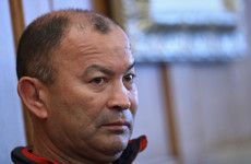 England coach Eddie Jones apologises for 'scummy Irish' comment