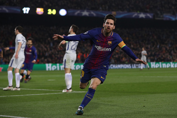 Messi bagged two tonight.