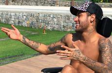 Neymar makes ill-judged tribute to Stephen Hawking by posting wheelchair photo