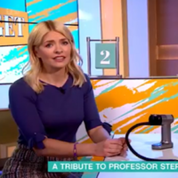 The tribute to Stephen Hawking on ITV's This Morning went hilariously wrong