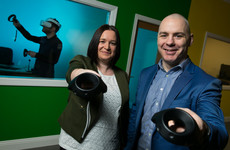 A Waterford virtual reality startup has bagged millions from a stock market float