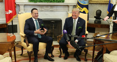 Trump and Leo become 'fast friends' yesterday (just don't mention Doonbeg)