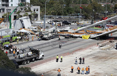 At least six dead after bridge collapses on highway in Florida